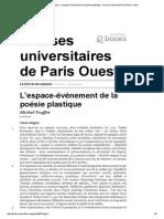 DOTREMENT (sobre) L'espace-événement de la poésie plastique.pdf