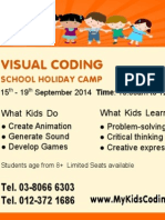 Visual Coding, Coding for Kids in Malaysia