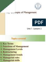 Key Concepts - L2