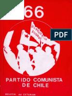Boletín del Exterior Partido Comunista de Chile Nº66