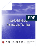 Tube to Tube Bicycle Frame building