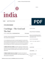 Coachings – the Good and the Bad _ Khelo India