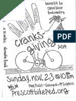 Cranksgiving Flyer 2014