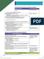 PALS Rhythm Disturbance and Vascular Access Skills Station Competency Checklist 2011