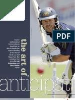 Inside Cricket - The Art of Anticipation