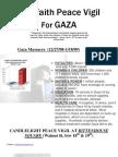 Interfaith Peace Vigil