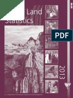 BLM Public Lands Statistics 2013