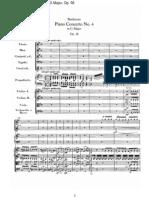 Piano Concerto No  4 in G Major, Op  58-I  Allegro moderato