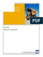 SAP ABAP Introduction and Overview