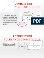 Exemple de Lecture de Specification
