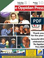 Edition 12, The Oppidan Press