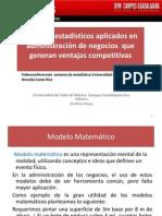 Modelos Estadísticos Aplicados en Administración