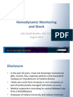 Shock& hemodynamic Monitoring/Pulmonary Board review