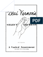 Dai Vernon - Select Secrets