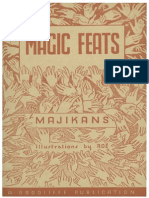 Majikans - Magic Feats