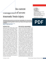A review of the current management of severe traumatic brain injury.pdf