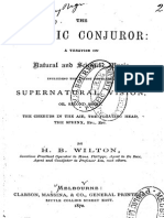 H B Wilton - Somatic Conjuror