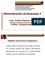 PRESENTACION AMINISTRACIÓN DE EMPRESAS I.ppt