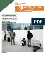 Detienen al alcalde auxiliar de La Resurrección, Sabino Leonardo Báez - IntoleranciaDiario.pdf