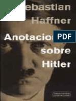 Sebastian Haffner - Anotaciones sobre Hitler.epub