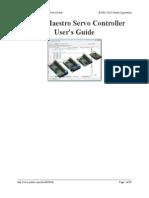 Maestro User Manual