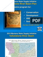 Yellowstone Water Planning