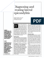 Diagnosing and Treating Lateral Epicondylitis
