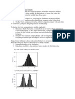 Statistics Midterm Outline