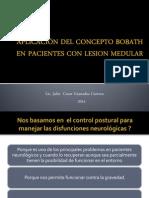APLICACION DEL CONCEPTO BOBATH EN LA LESION MEDULAR.pptx