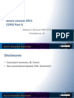 Copd /Pulmonary Board review