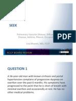 SEEK/Pulmonary Board review