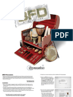BFD Percussion Manual