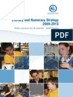 literacy and numeracy strategy 2009-2013