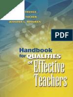 Best Teacher Qualities