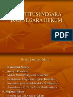 Konstitusi Negara Dan Negara Hukum