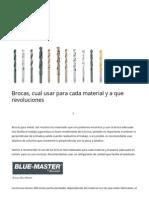 Brocas, cual usar para cada material y a que revoluciones _ MonTec.pdf