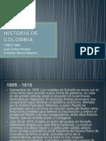 HISTORIA DE COLOMBIA 1792 - 1892.pptx