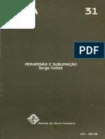 Serge Cottet - Perversão e sublimação.pdf