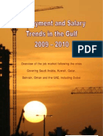 Employment and Salary Trends in the Gulf 2009 2010