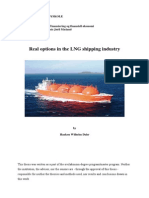 Real Options in the LNG Shipping Industry
