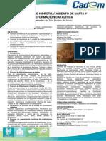 Proceso de Hidrotratamiento de Nafta y Reformación Catalítica