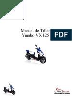 Yumbo VX 125 - Manual de Taller