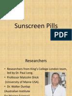 Sunscreen Pills