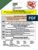 9th week of school hmwk oct 20-24 2014