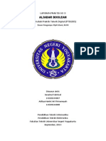 Laporan Praktikum Teknik Digital Aljabar Boolean