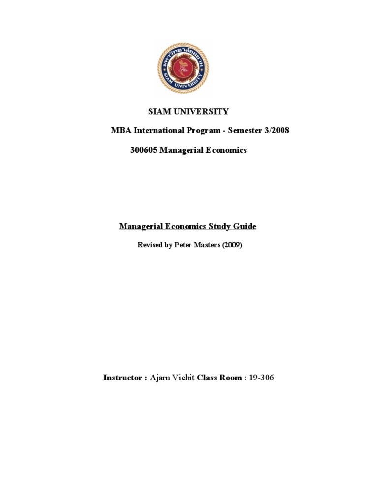 managerial economics study guide imba demand demand curve rh scribd com Economics Study Questions Quick Study Business Economics