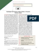 Clopidogrel with Aspirin in Minor Stroke or Transient  Ischemic Attack