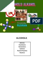 4. Alcohols (Alkohol)