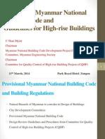CQHP Potential of Myanmar Building Code