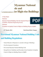 CQHP Potential of Myanmar Building Code